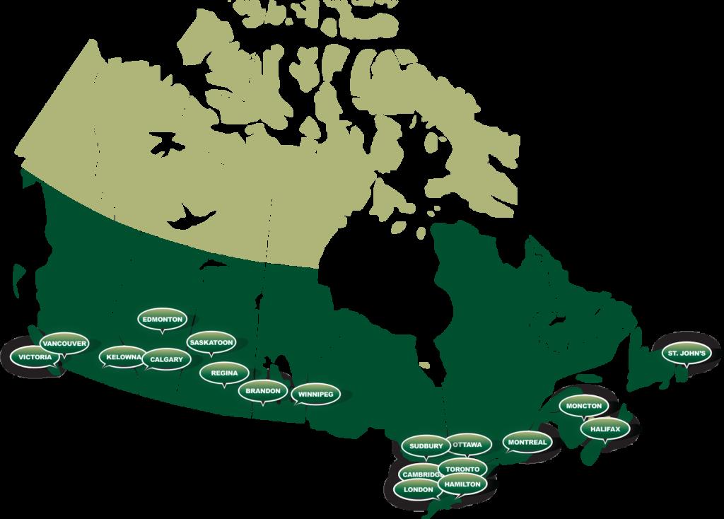 Canada branches